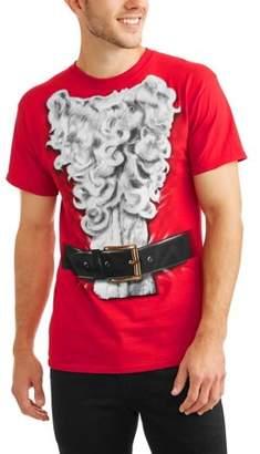 Holiday Santa Suit Men's Graphic T-Shirt