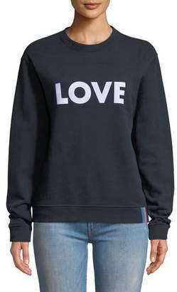 Kule The Raleigh Love Graphic Sweatshirt
