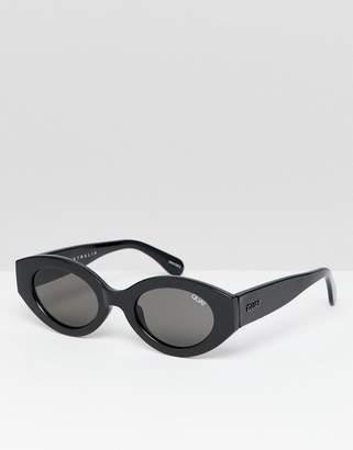 Quay See Me Smile oval sunglasses
