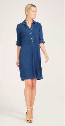 J.Mclaughlin Adrienne Knit Denim Dress