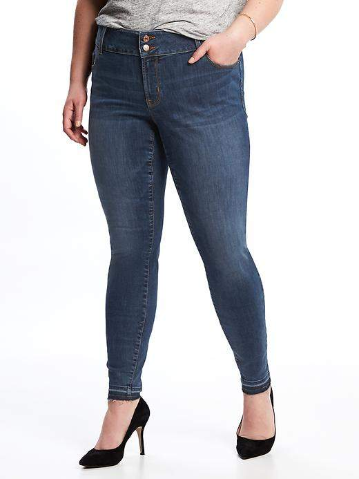 Old NavyHigh-Rise Built-In Sculpt Plus-Size Rockstar Jeans