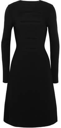 Narciso Rodriguez Cutout Stretch-knit Dress - Black