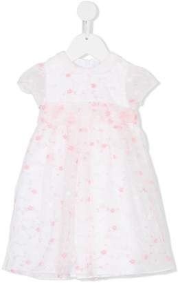 Il Gufo embroidered floral dress