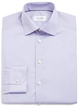 Eton of Sweden Mini Pin Stripe Regular Fit Dress Shirt $275 thestylecure.com