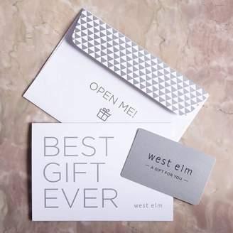 west elm Gift Card