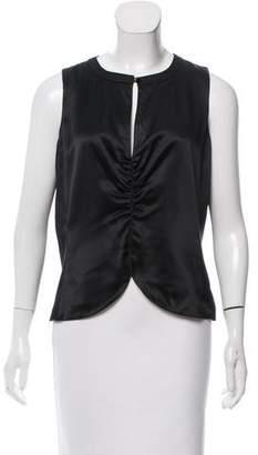 Calvin Klein Sleeveless Silk Top