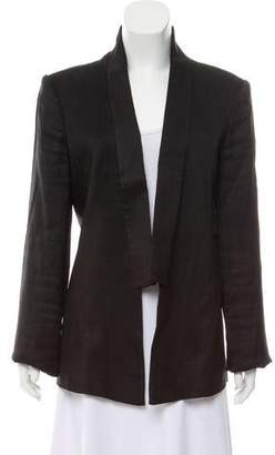 Theyskens' Theory Shawl Lapel Unstructured Blazer
