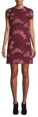 Burberry Lian Floral Lace Shift Dress