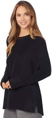 Cuddl Duds Women's Fleece Lounge Pullover