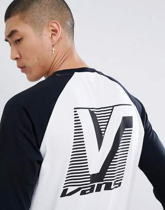 Vans Grand Raglan T-Shirt In White VA3HACYB2