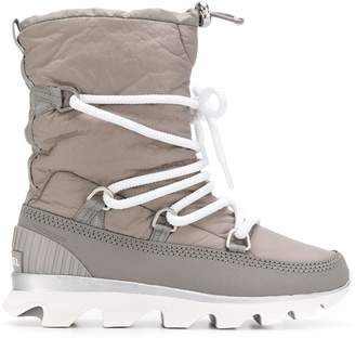 Sorel padded ankle boots