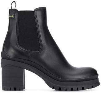 Prada platform Chelsea boots