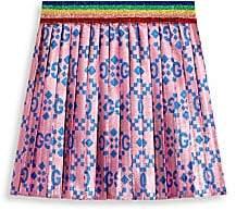 Gucci Baby Girl's GG Net Lurex Jacquard Skirt