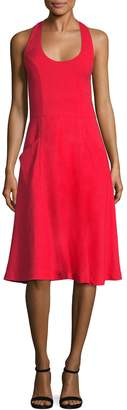 Ava & Aiden Women's Halter Fit & Flare Dress