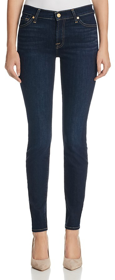 7 For All Mankind 7 For All Mankind Skinny Jeans in Dark Dusk Indigio