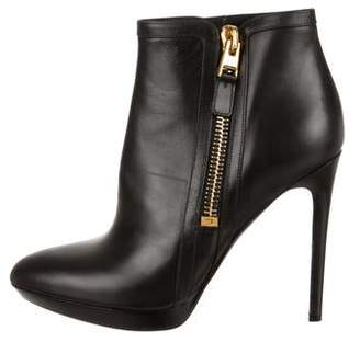 Tom Ford Pointed-Toe Ankle Boots