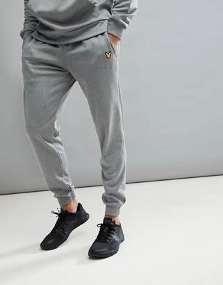 Lyle & Scott Fitness Hislop Jogger In Grey Marl