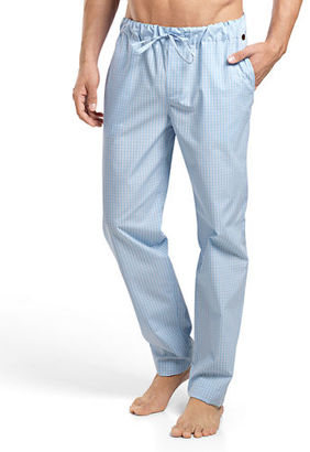 Hanro Night & Day Check Lounge Pants $128 thestylecure.com