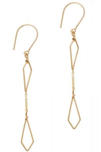 Styleserver DE By Philippe Ohrhänger Swinging Diamonds vergoldet
