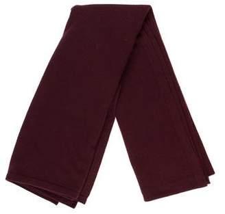 Chanel Cashmere-Blend Knit Scarf