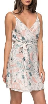 Women's Roxy Drifting Current Wrap Dress $39.50 thestylecure.com