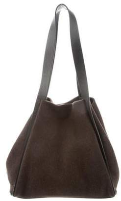 Akris Leather-Trim Tote Bag Leather-Trim Tote Bag