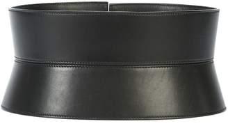 Oscar de la Renta wide kimono belt