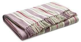Ralph Lauren Home Northward Striped Linen Throw Blanket