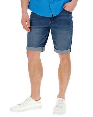 Jacamo Midwash Denim Shorts