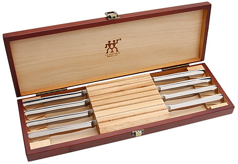 Zwilling J.A. Henckels Twin® Stainless Eight Piece Boxed Steak Knife Set