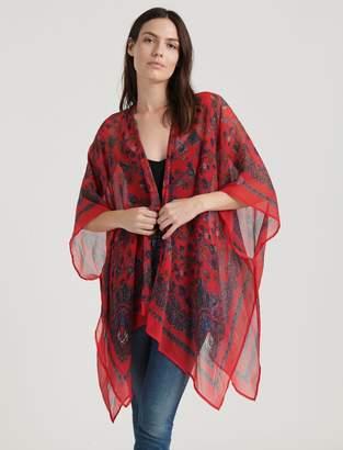 Lucky Brand Malibu Paisley Kimono
