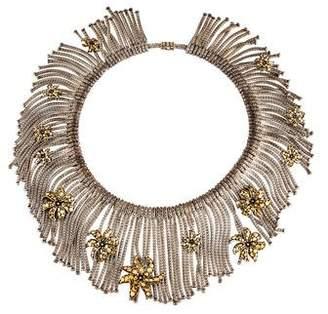 John Hardy Ayu Dot Jasmine Flower Fringe Necklace