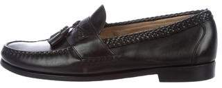 Allen Edmonds Leather Kiltie Loafers
