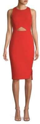 BCBGMAXAZRIA Cut-Out Sheath Dress