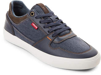 Levi's Navy & Brown Mason Low-Top Sneakers