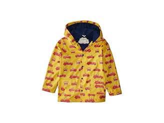 Hatley Vintage Fire Trucks Raincoat (Toddler/Little Kids/Big Kids)