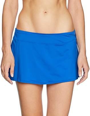 Jantzen Women's Solid Skirted Bikini Bottom