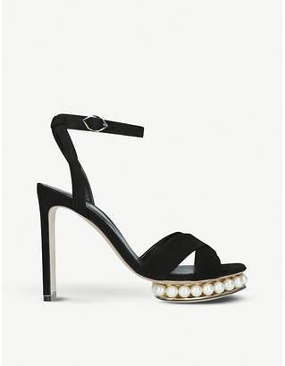 Nicholas Kirkwood Casati pearl-trim platform sandals