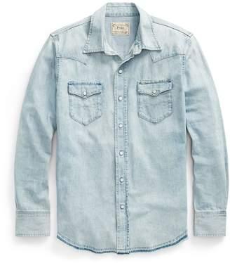 Ralph Lauren Classic Fit Faded Denim Shirt