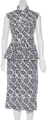 Dries Van Noten Sleeveless Midi Dress