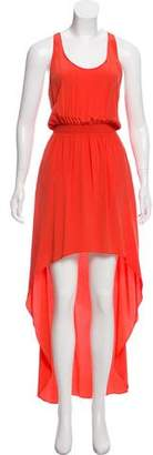 Jay Godfrey Silk High-Low Dress