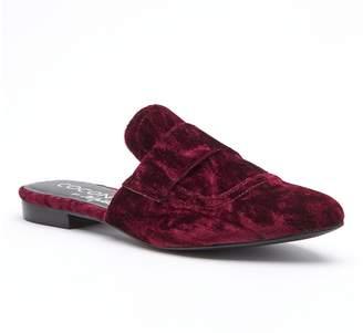 Matisse Funky Velvet Slide Loafer