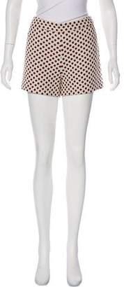 Alice + Olivia High-Rise Mini Shorts