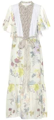 See by Chloe Floral-printed midi dress