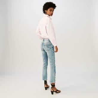 Maje Flared 7/8 denim jeans