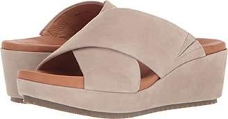 Gentle Souls Kenneth Cole Women's Mikenzie Platform X-Band Slide Sandal Sandal