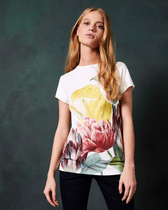 Ted Baker PIPPIE Tranquility fitted T-shirt