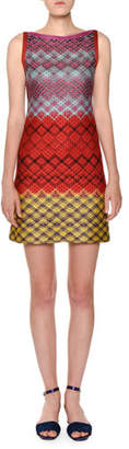 Missoni Sleeveless Multicolor Shift Dress