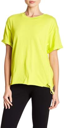 KENDALL + KYLIE Kendall & Kylie Ruched Side Tie Tee