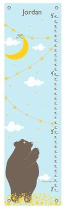 Oopsy Daisy Fine Art For Kids Reach for The Moon by Finny and Zook Personalized Growth Chart